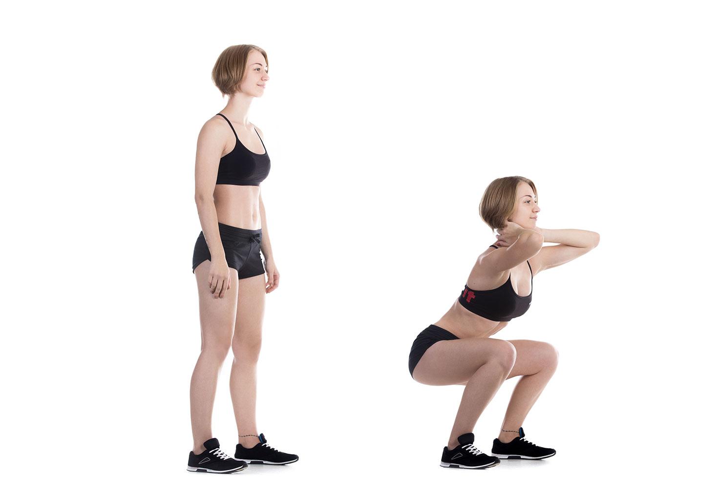 Упражнения для сжигания жира на ляшках и животе