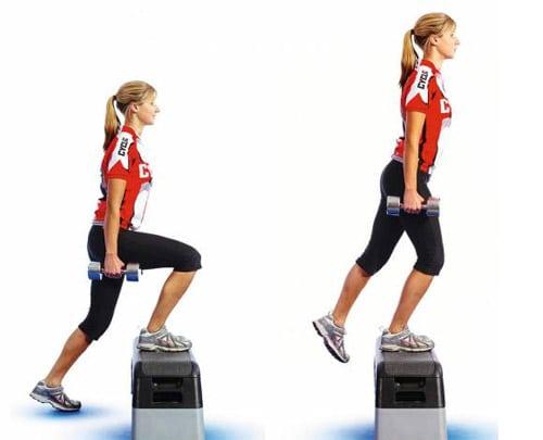 Лучшие упражнения для укрепления квадрицепса бедра