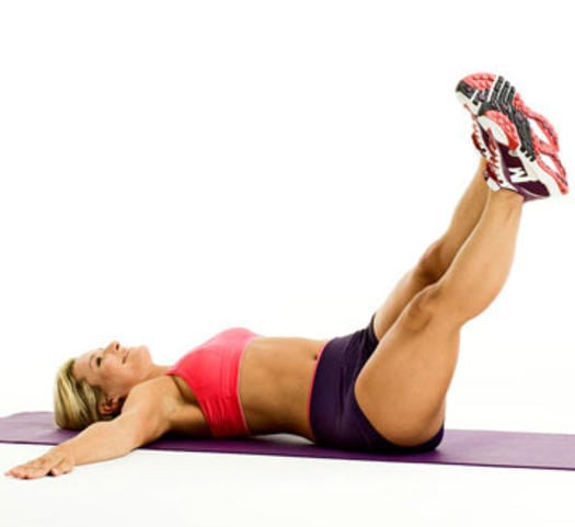 Упражнения для похудения в бедрах и животе