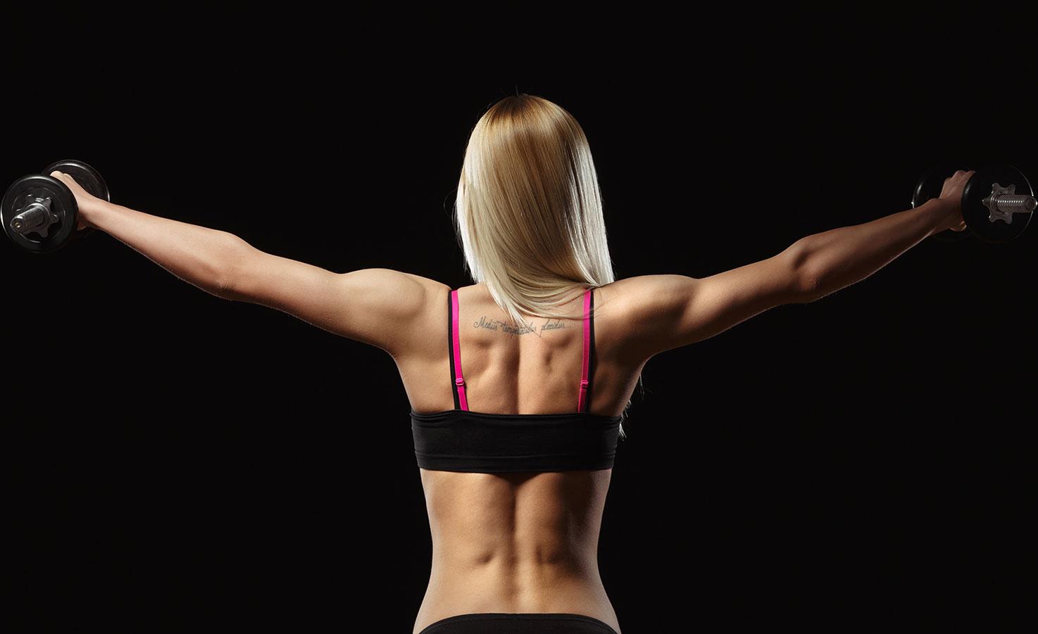 Эффективные упражнения для мышц плечевого пояса