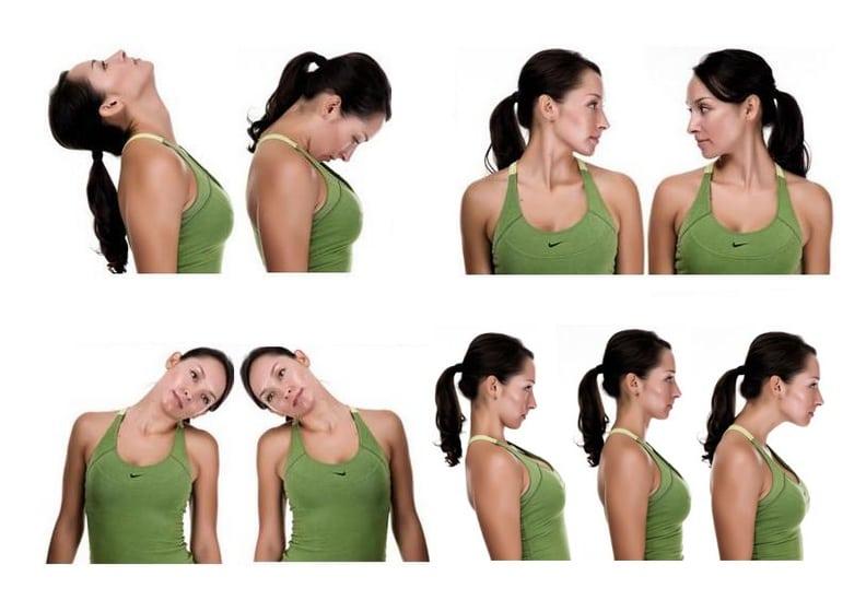 Лучшие упражнения при шейном остеохондрозе позвоночника