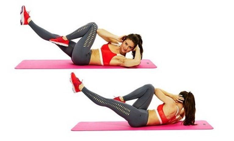 Самые эффективные упражнения для нижнего пресса: для женщин