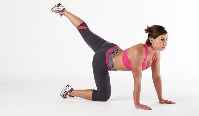 Комплекс упражнений для бёдер и ягодиц