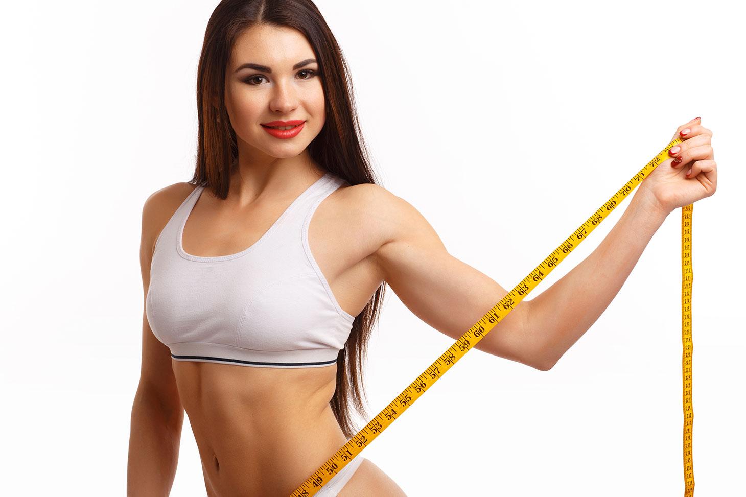 быстро убрать жир живота женщине
