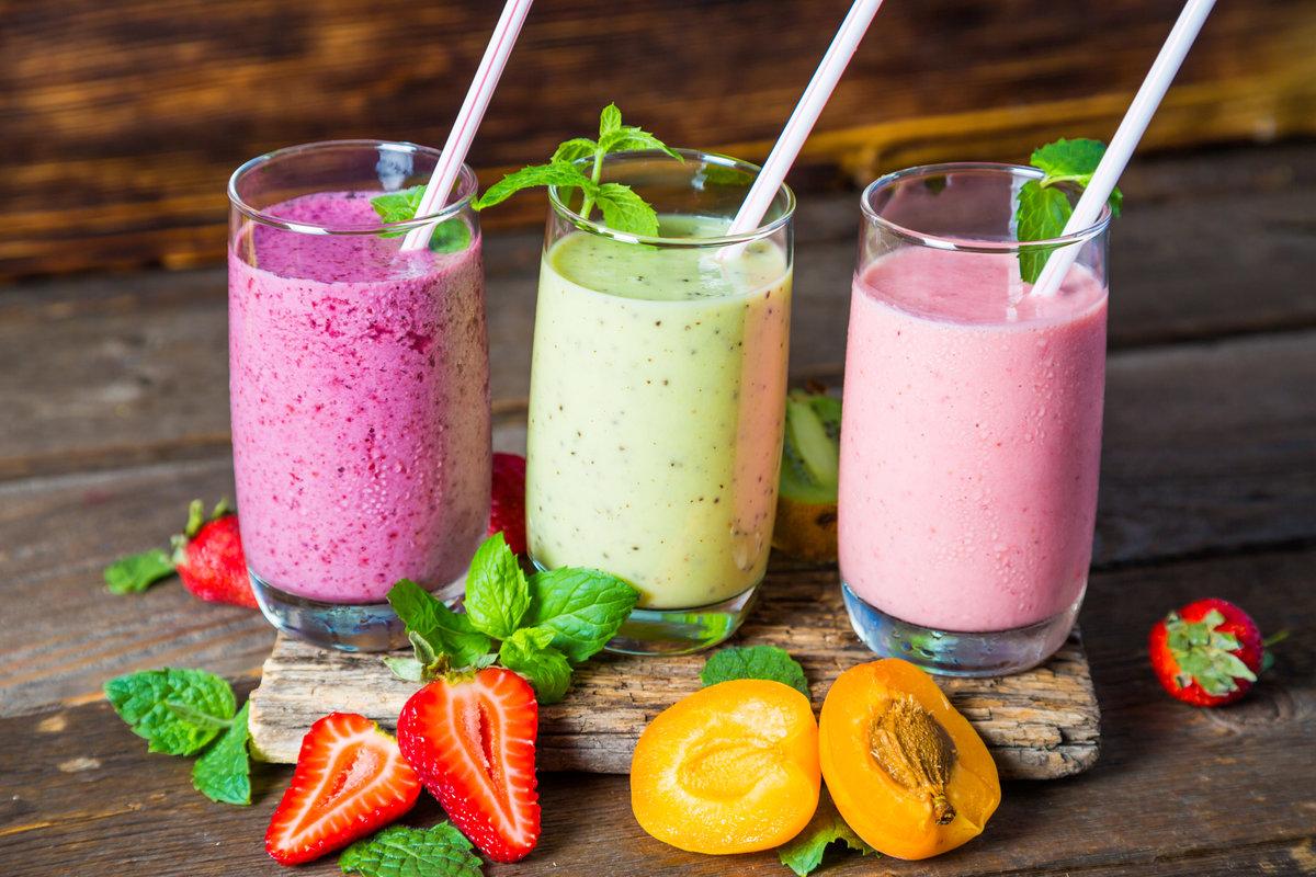Простые рецепты смузи в блендере для похудения