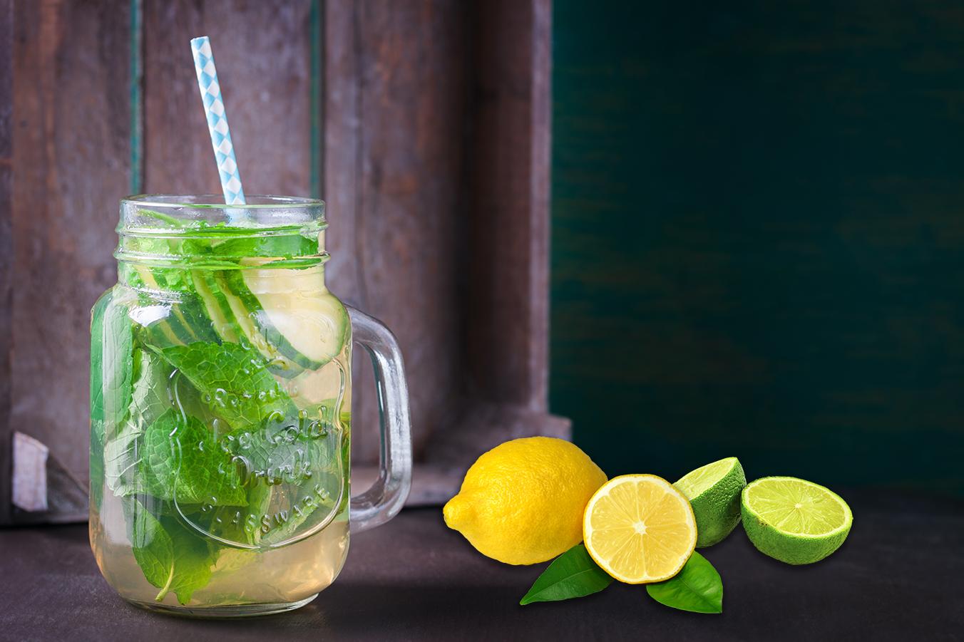 Как сделать лимонную воду фото 270