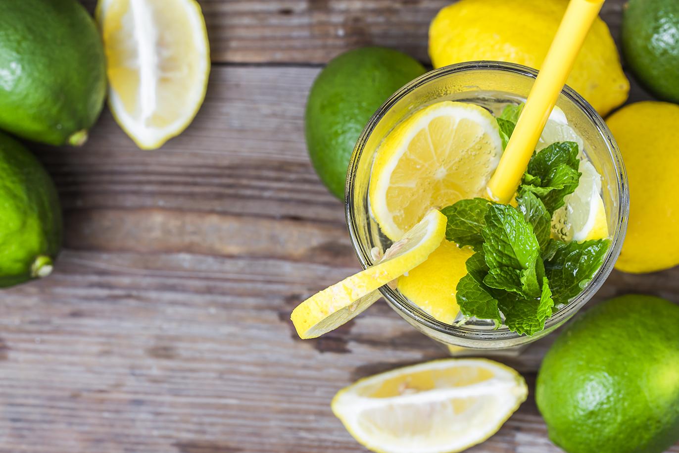 Как сделать лимонную воду фото 68