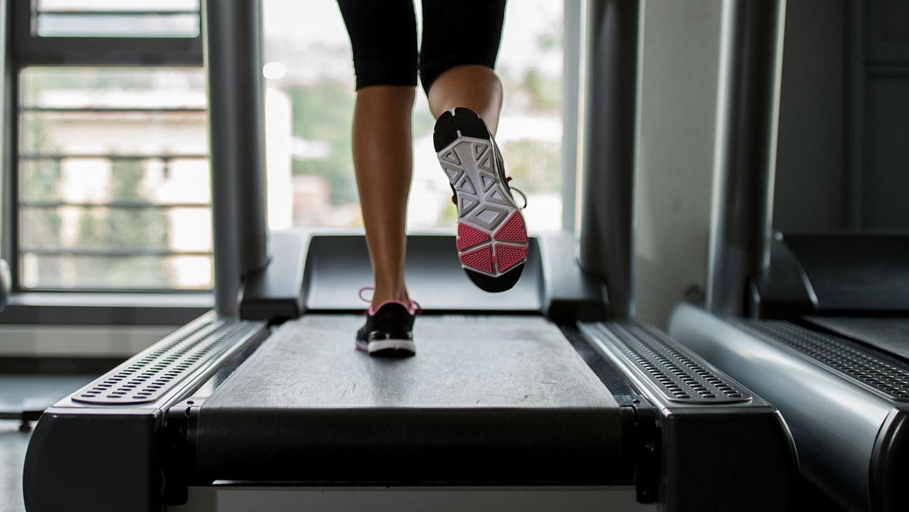 Правильный бег на беговой дорожке для похудения