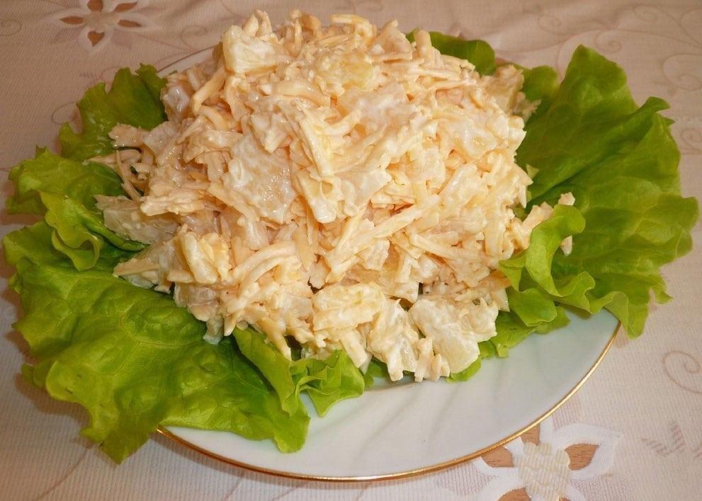 Топ-5 диетических салатов с куриной грудкой