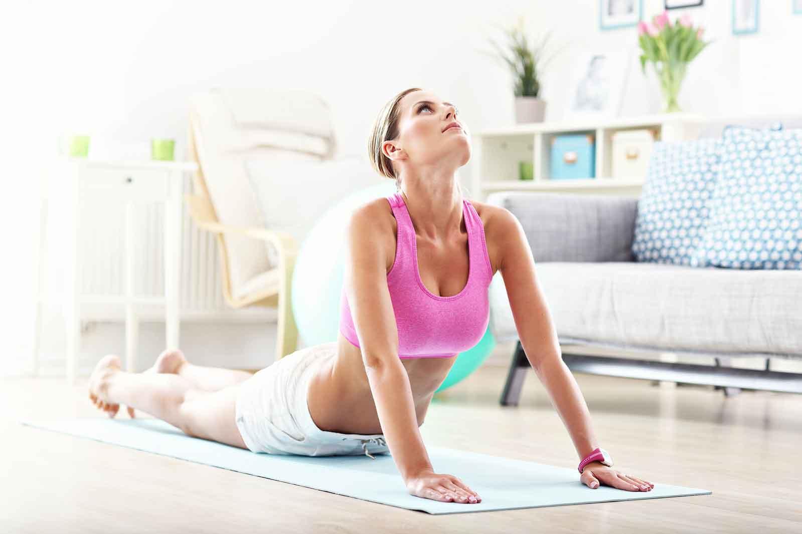Фитнес дома: Топ-5 упражнений для начинающих