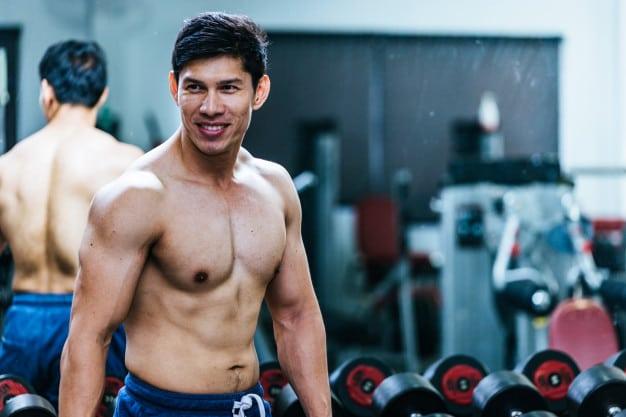 Мужская программа для занятия в тренажерном зале