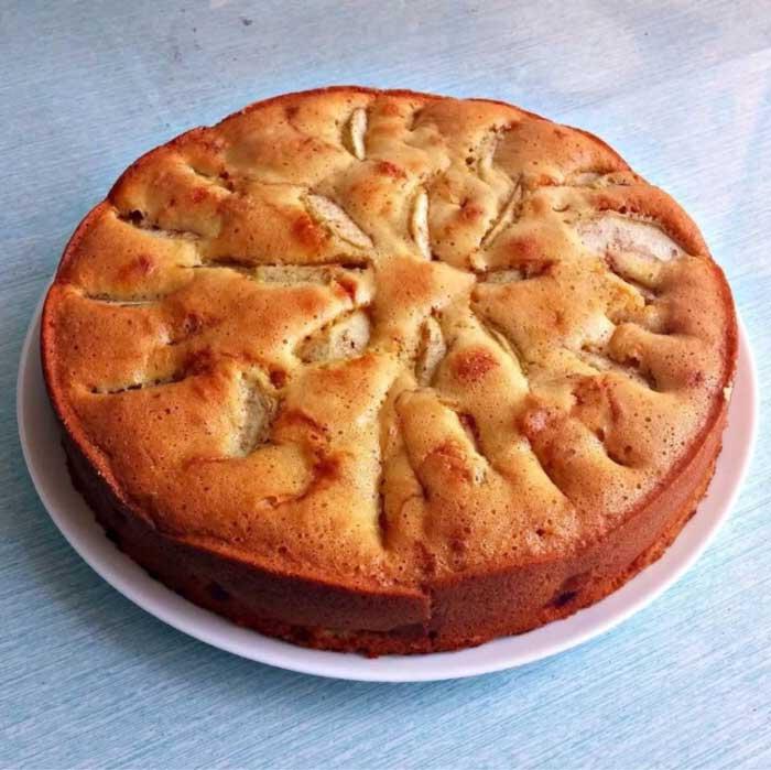 Диетический пирог Шарлотка - рецепт пошаговый с фото